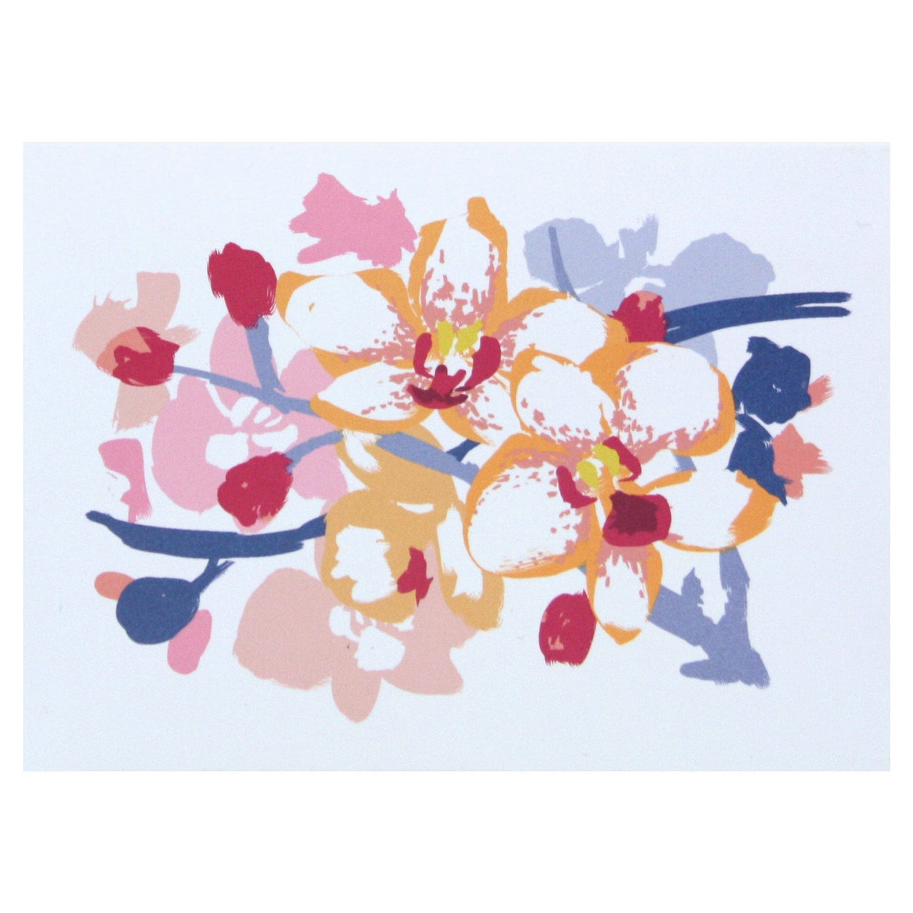 Orchid Boxed Note Cards