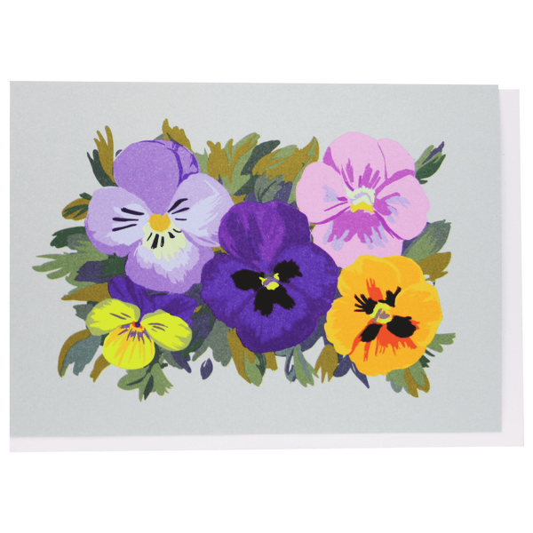 Pansy Patch Boxed Note Cards