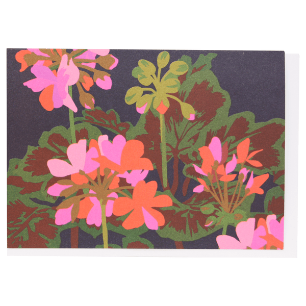 Geraniums Boxed Note Cards