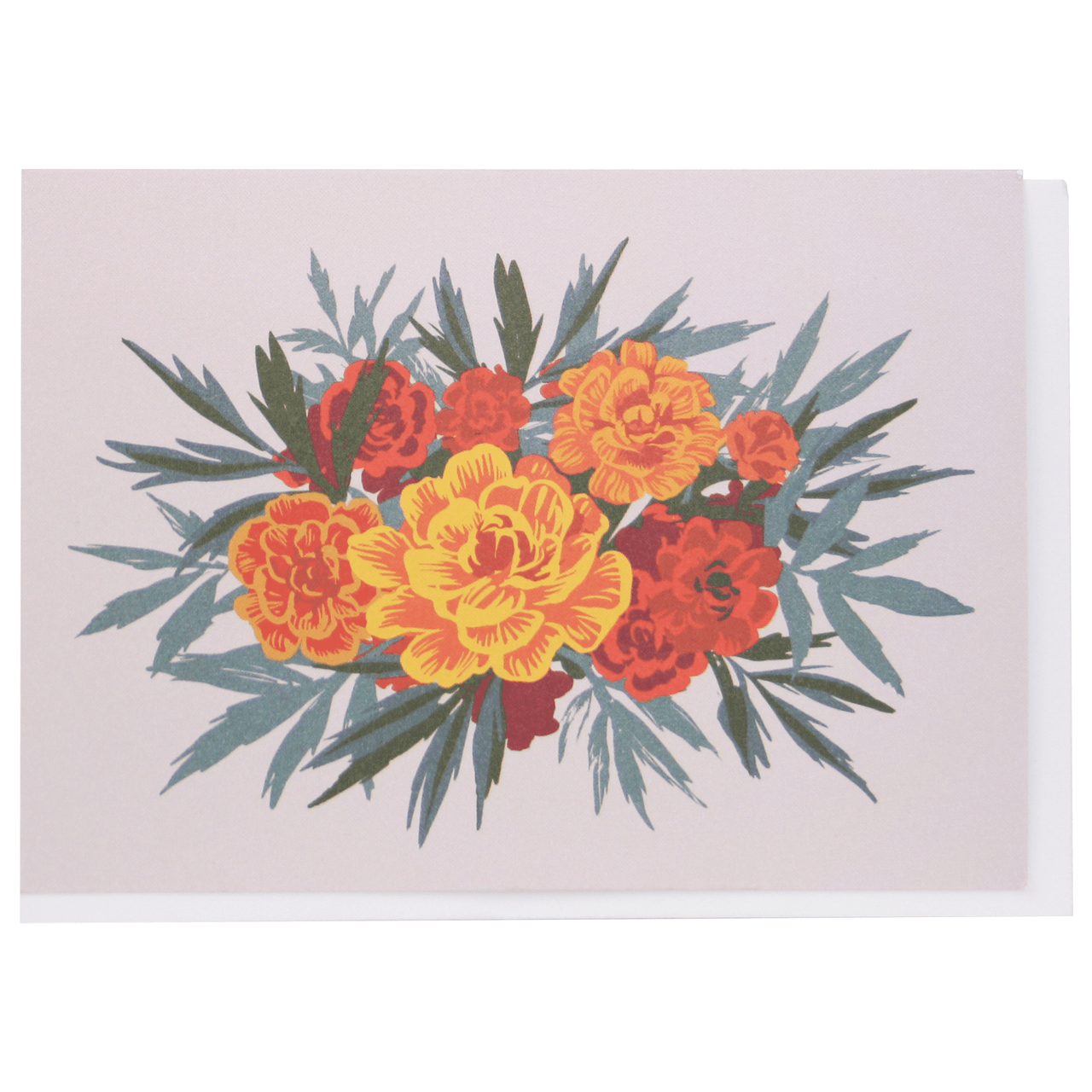 Marigolds Boxed Note Cards