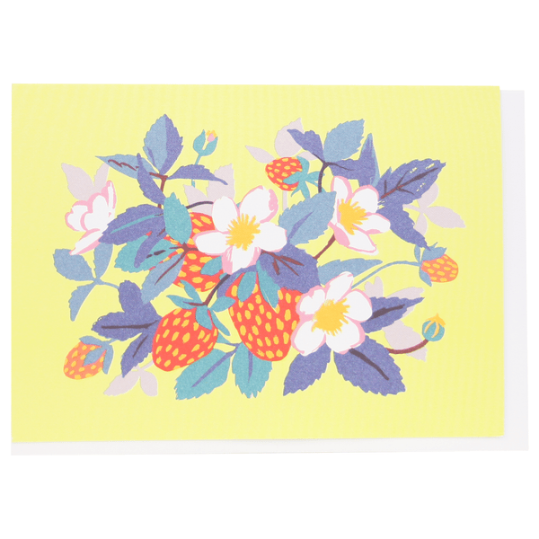 Strawberries Boxed Note Cards