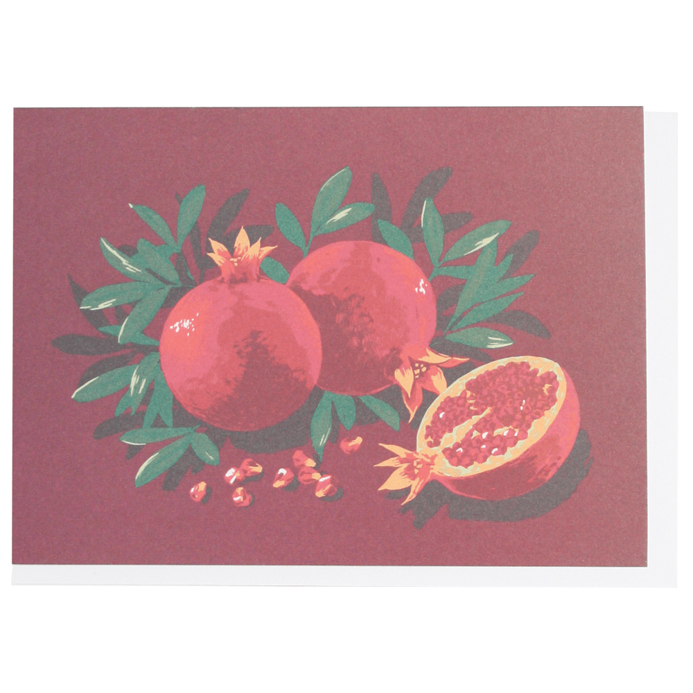 Pomegranates Boxed Note Cards