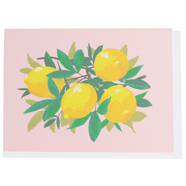 Lemons Boxed Note Cards