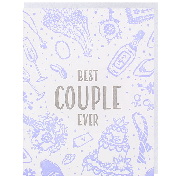 Best Couple Ever Wedding Card