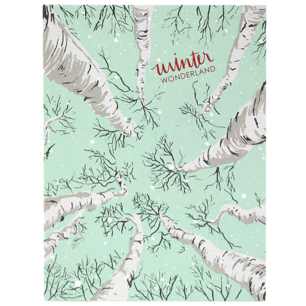 Birch Trees Holiday Card