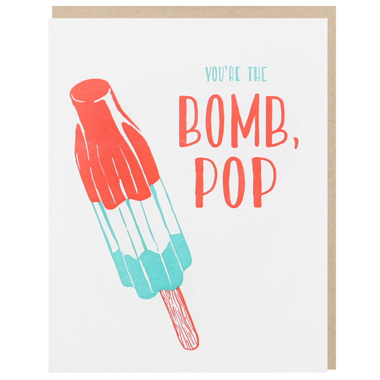 Bomb Pop Father's Day Card