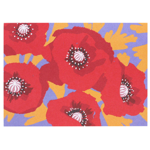 Brilliant Poppies Boxed Note Cards
