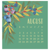 2020 Flourish Mini Calendar