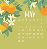 2021 Bloom Mini Calendar