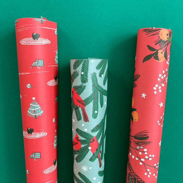 Christmas Gift Wrap Set