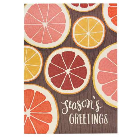 Citrus Holiday Card
