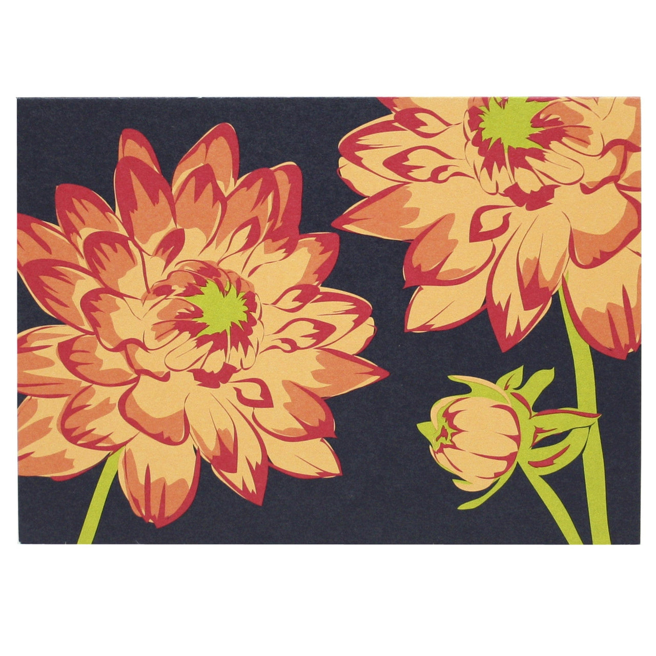 Dahlia Patch Note Card