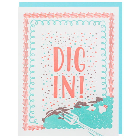 Dig In Birthday Card