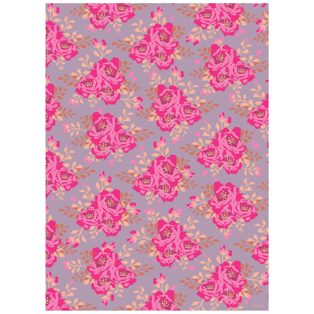 English Roses Wrapping Paper