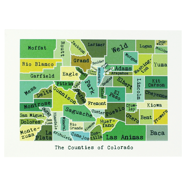 Colorado Note Card