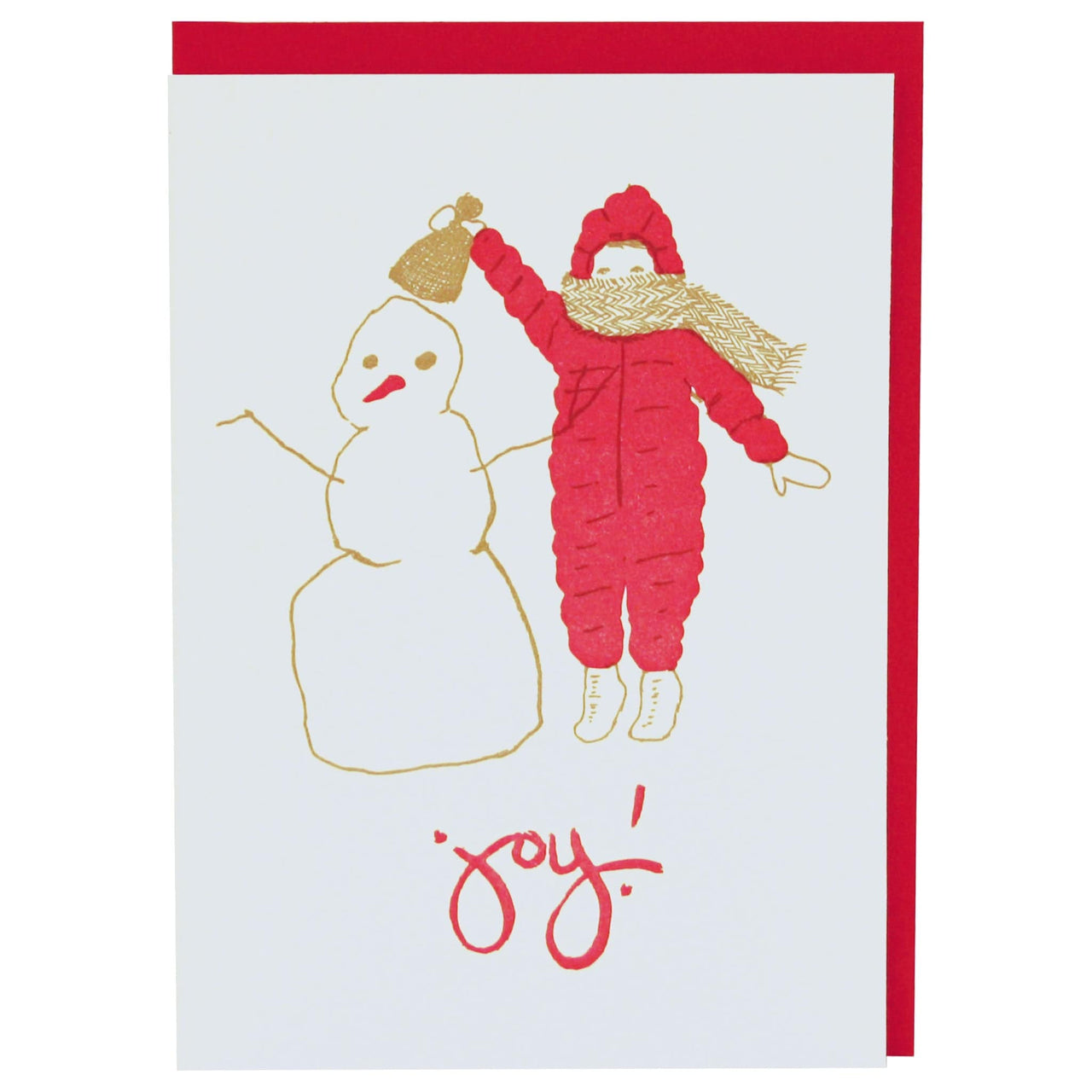 Little Snowman Holiday Card