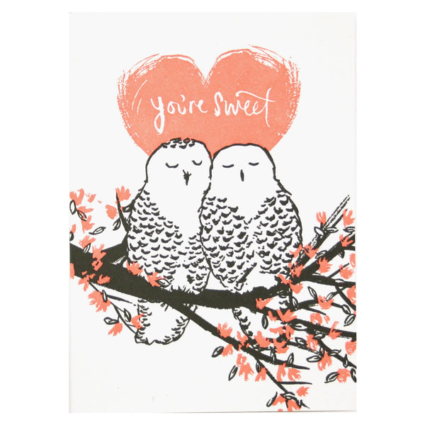 Owls Love Card