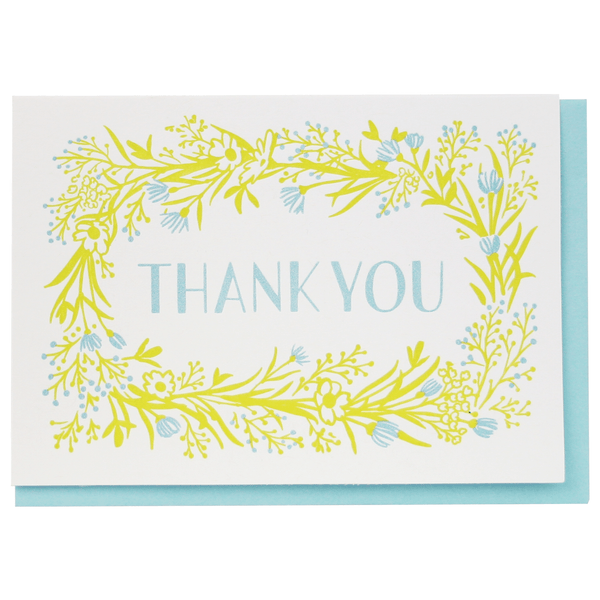 Wildflower Thank You Notes