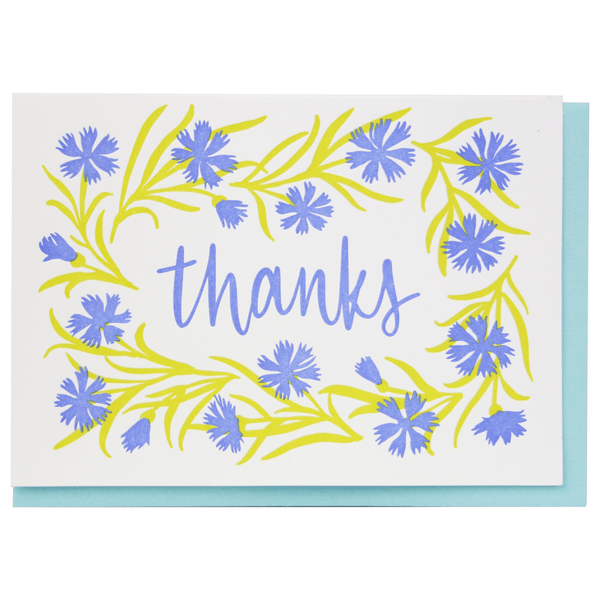 Cornflower Thank You Notes