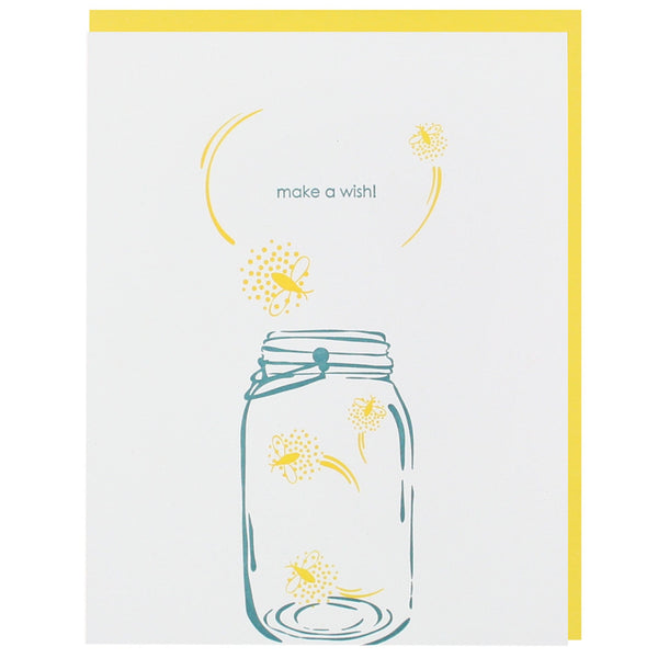 Fireflies Birthday Card