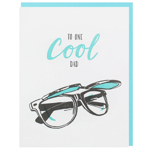 Flip Up Sunglasses Father's Day Card