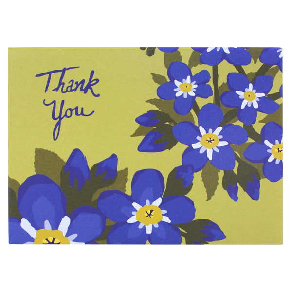 Forget-Me-Nots Thank You Notes