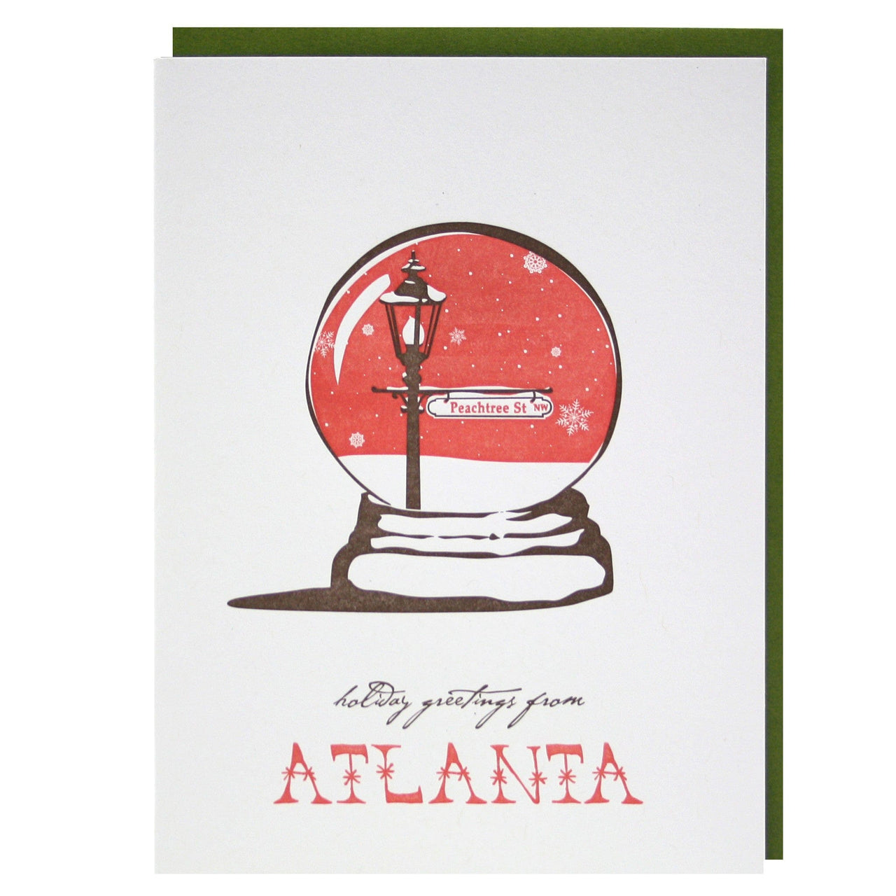 Holiday Greetings from Atlanta Card