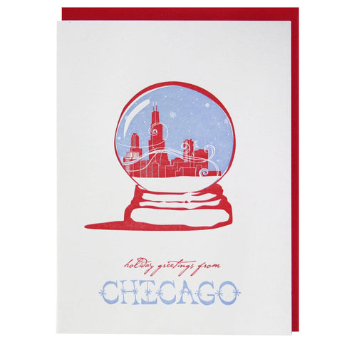 Holiday Greetings from Chicago Card