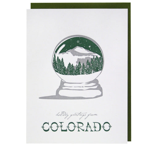 Holiday Greetings from Colorado Card
