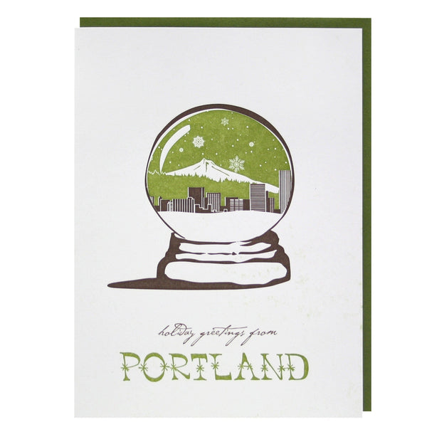 Holiday Greetings from Portland Card