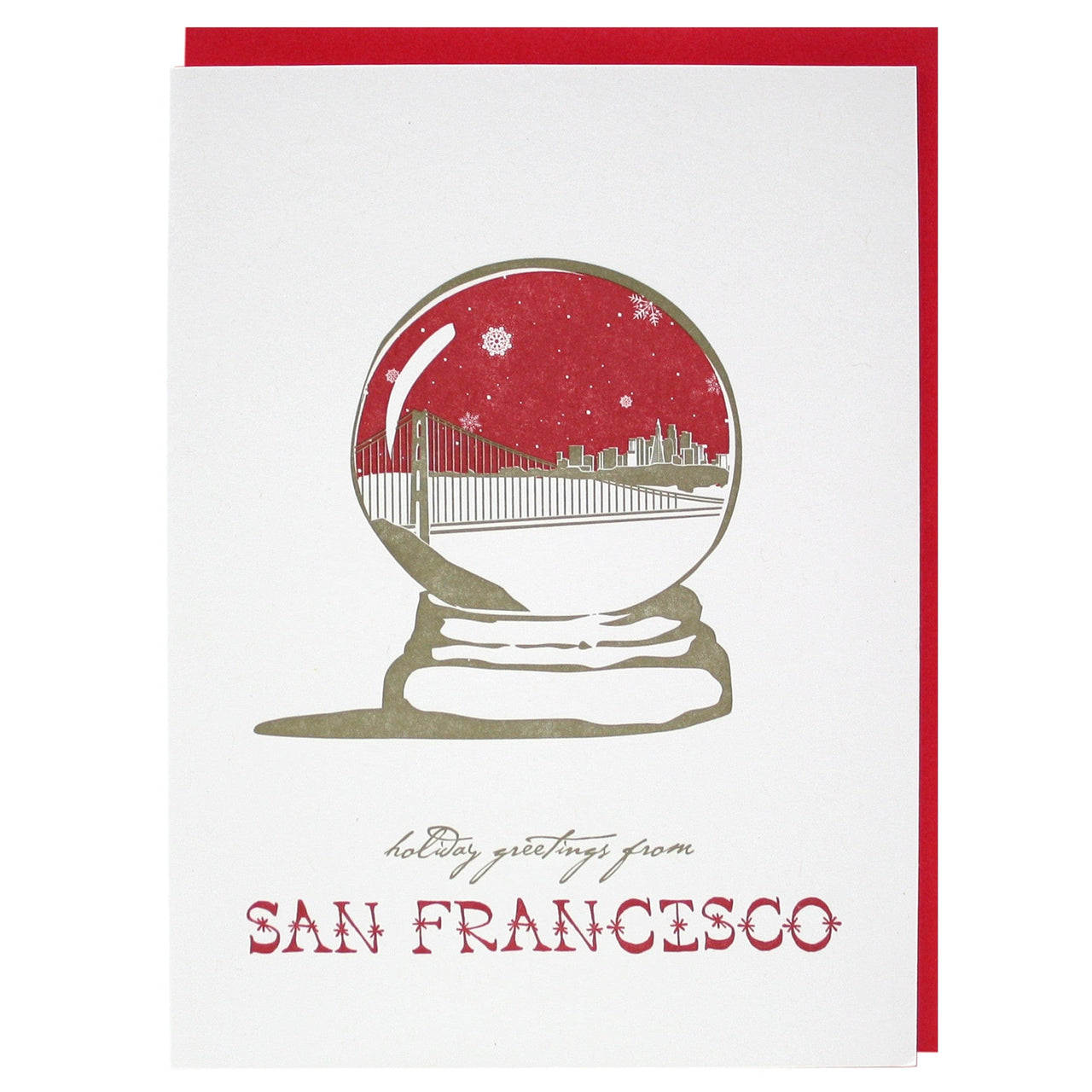Holiday Greetings from San Francisco Card