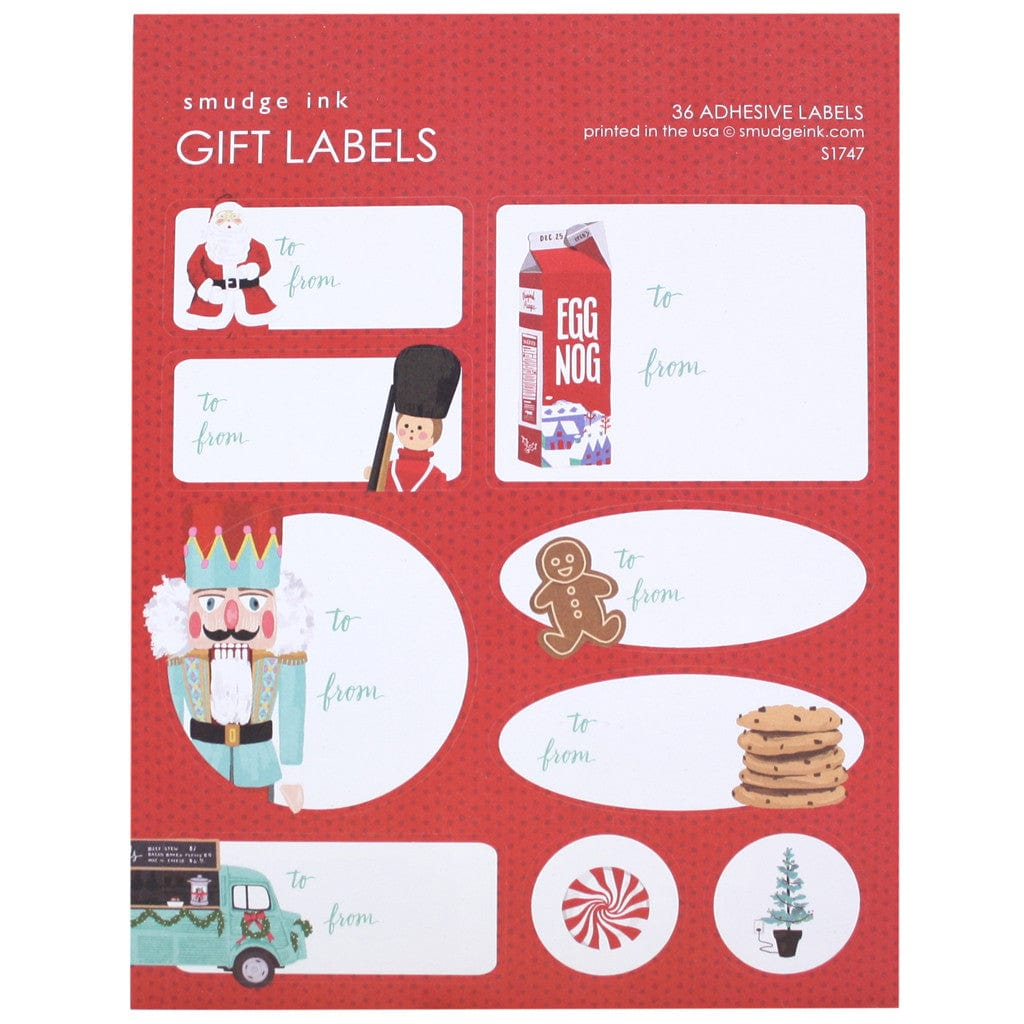 Holiday Nostalgia Gift Labels