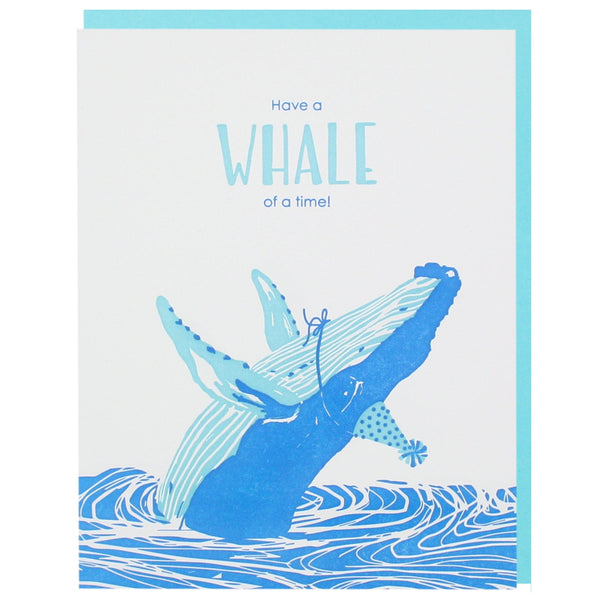 Humpback Whale Birthday Card Happy Birthday Cards