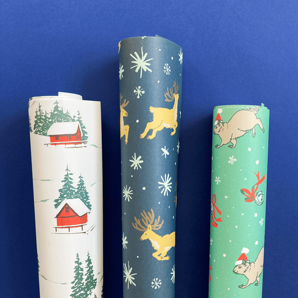 Joyful Holiday Gift Wrap Set