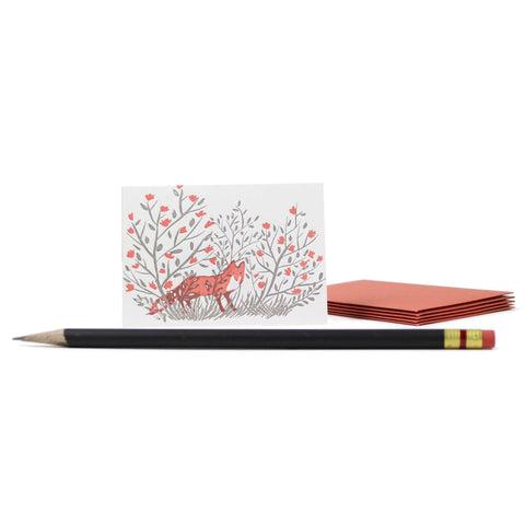 Fox Mini Note Set