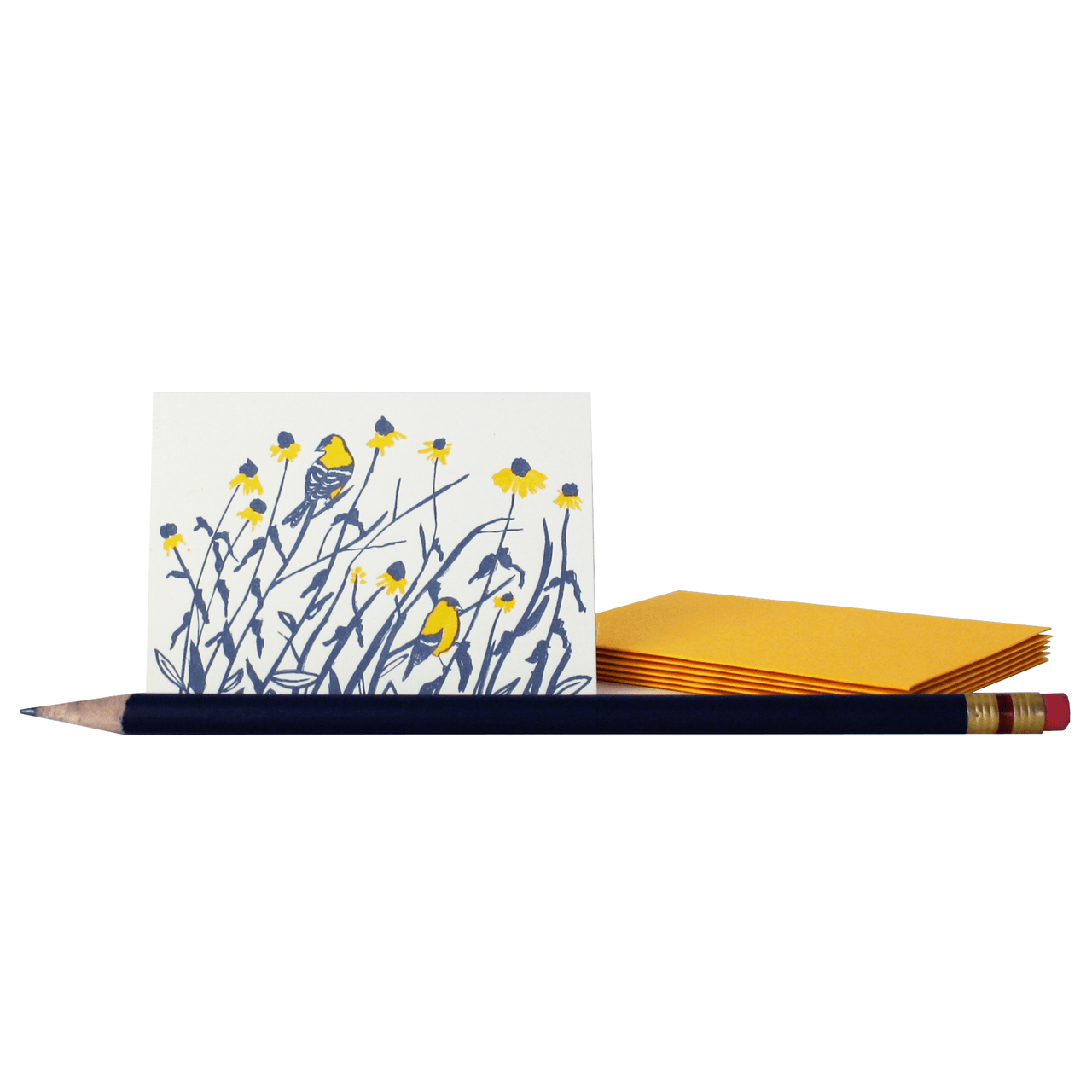 Goldfinches Mini Note Set