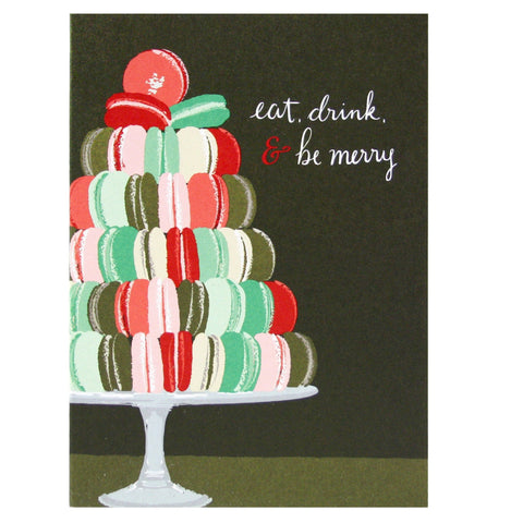 Macarons Holiday Card