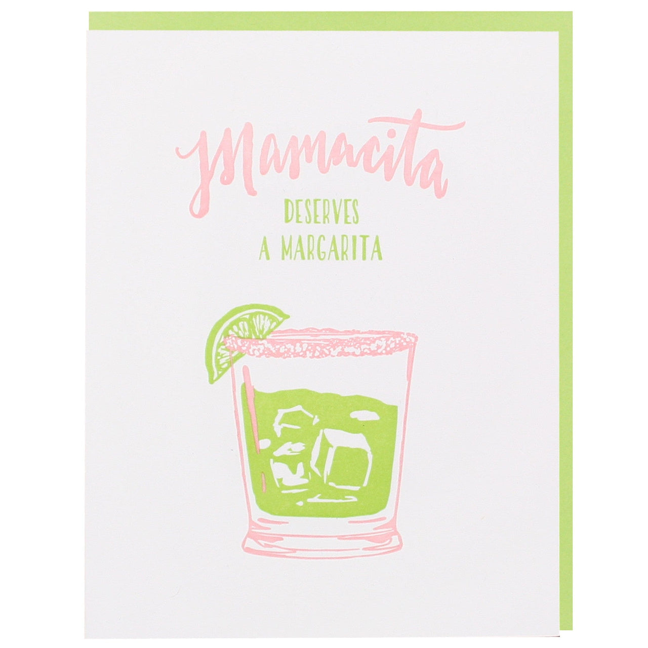Mamacita Margarita Mother's Day Card