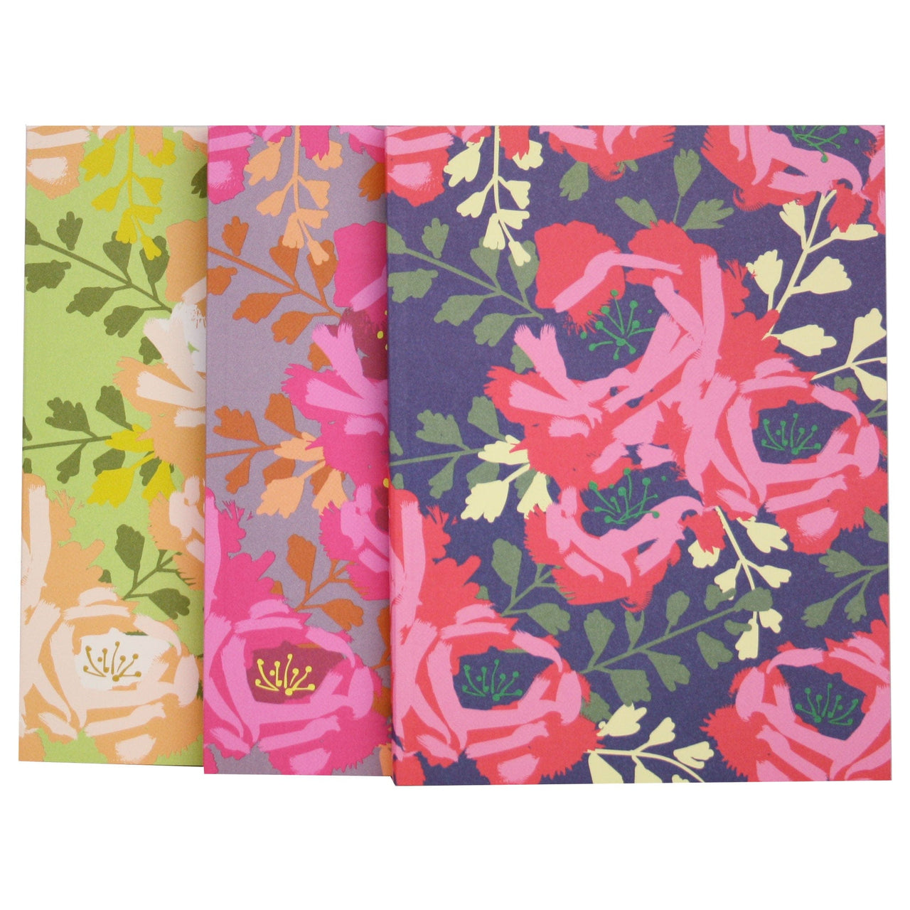 English Roses Notebook Trio