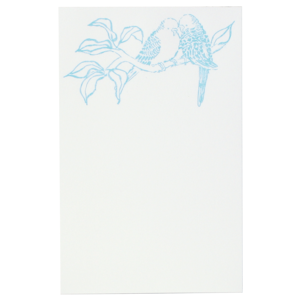 Budgies Notepad