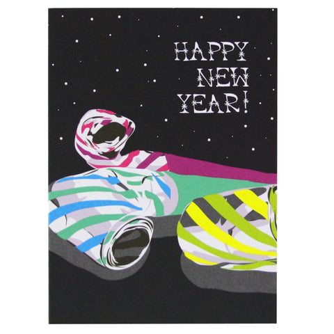 Noisemakers New Year Card