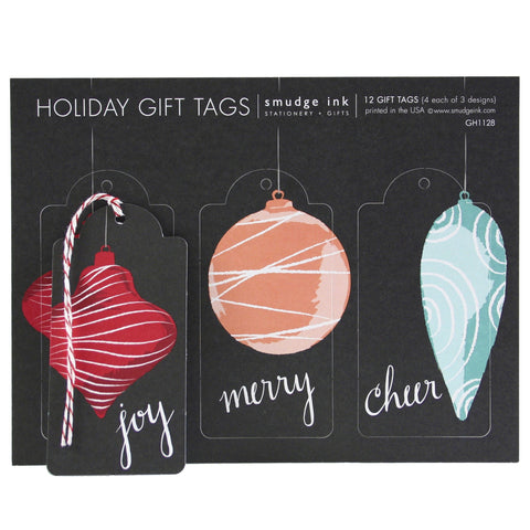 Ornament Trio Gift Tags