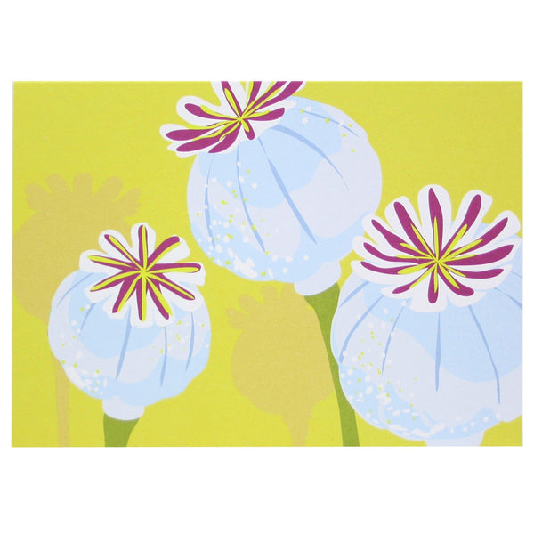Poppy Pod Note Cards