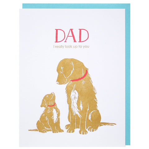 Puppy's Love Father's Day Card