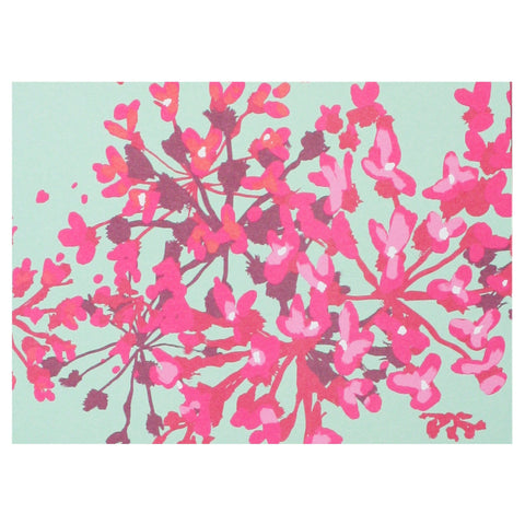 Red Bud Blossoms Boxed Note Cards