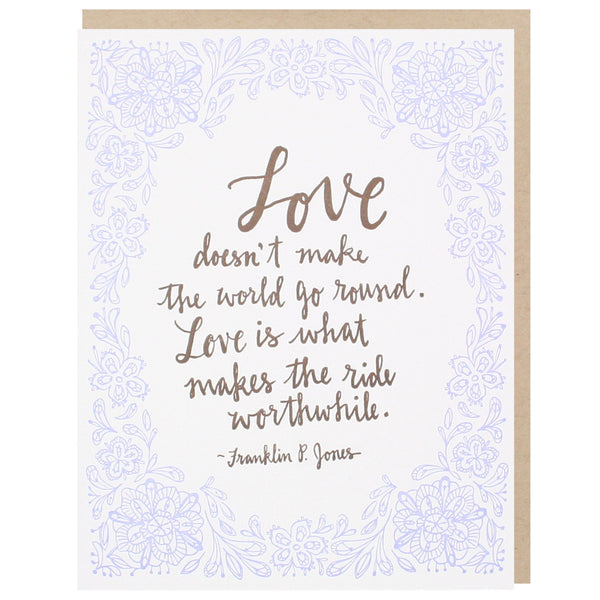 Romantic love quote wedding card wedding congratulations for Love quotes for card