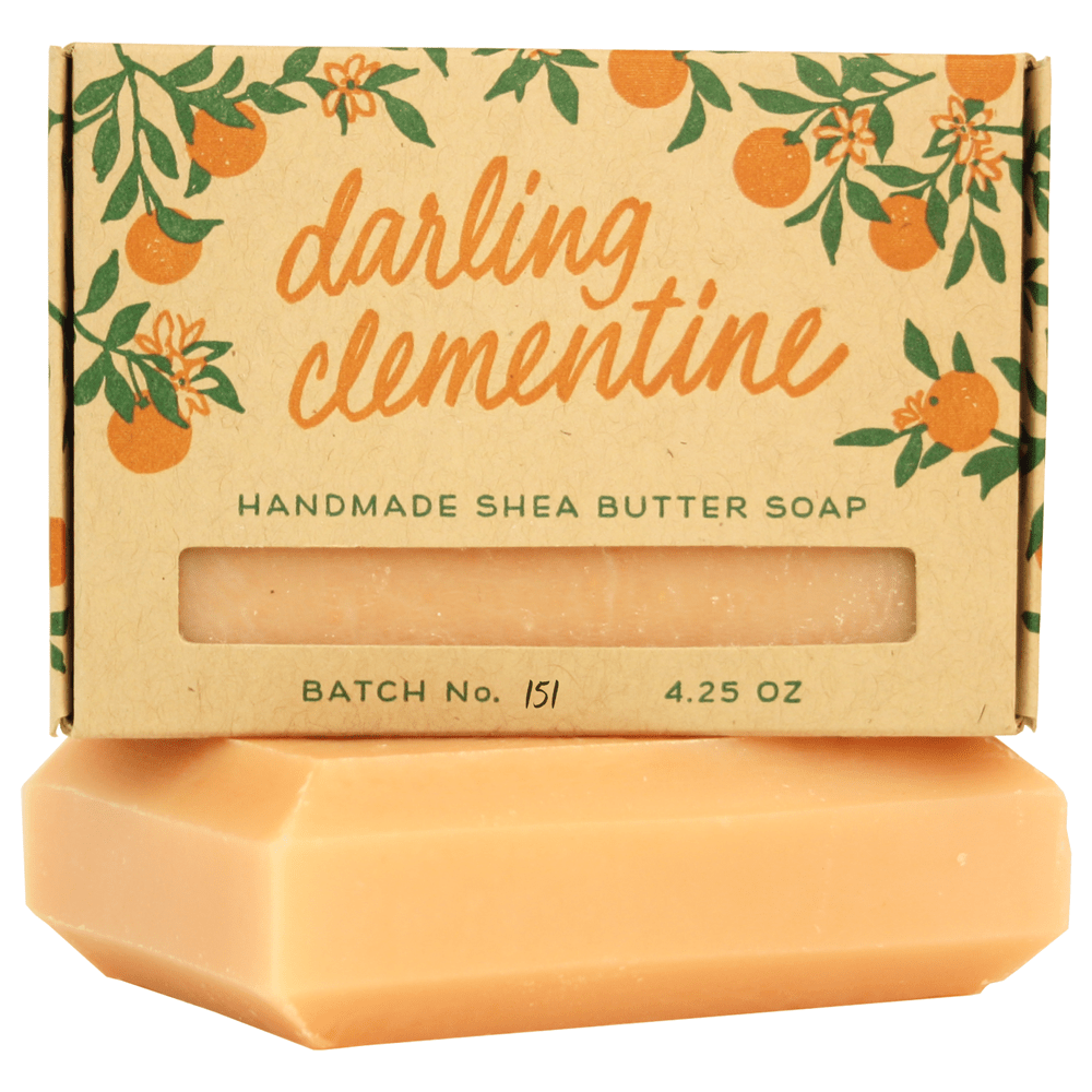 Darling Clementine Handmade Soap
