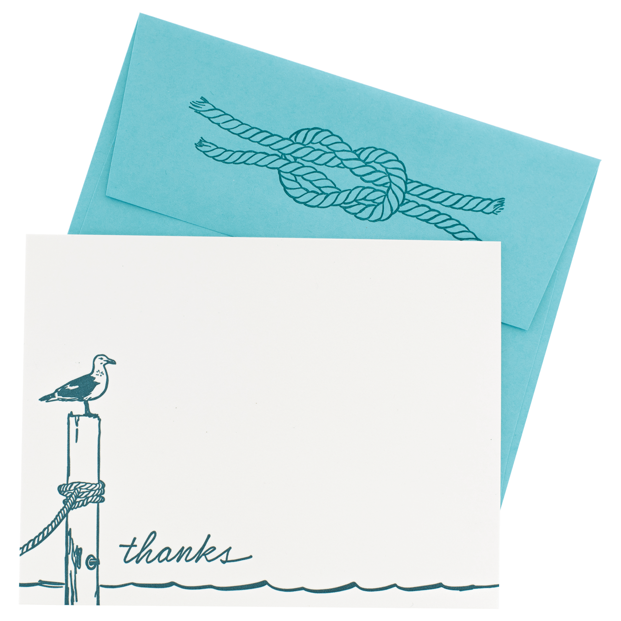 Seagull Note Cards with Letterpress Envelopes