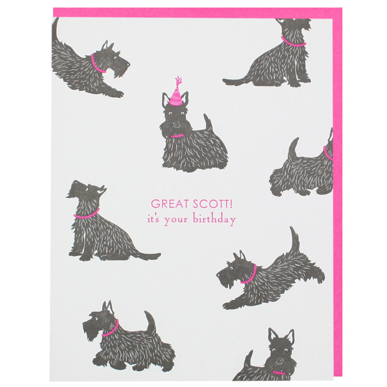 Scottish terrier birthday card happy birthday cards smudge ink scottish terrier birthday card m4hsunfo