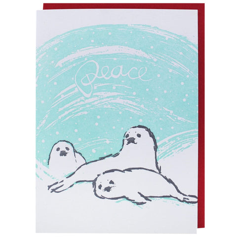 Seal Pups Holiday Card
